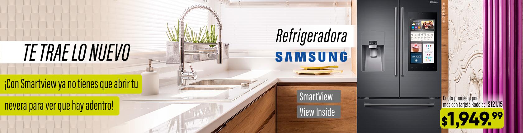 Lo nuevo - refrigeradora - samsung smartview