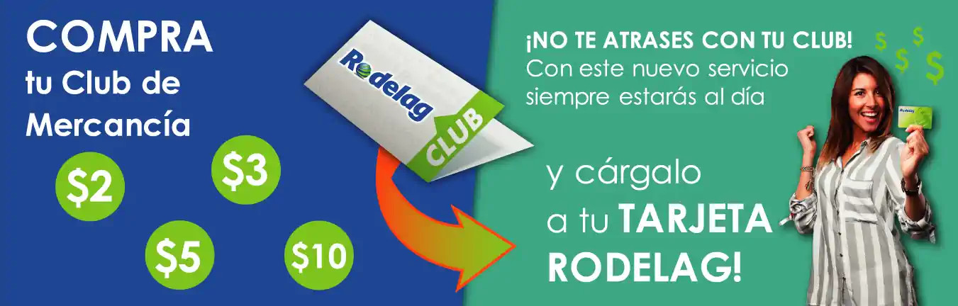 Club de mercancia rodelag